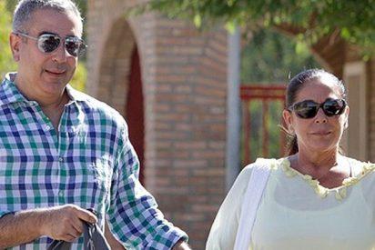 Isabel Pantoja hace 'las paces' con Mediaset y va su hermano Agustin y les gana una demanda