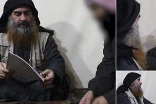El peligroso líder del Estado Islámico Al Baghdadi aparece en un video por primera vez después de 5 años