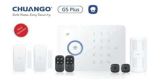 """Alarma sin cuotas Chuango 1 gsm/SMS/RFID Touch Alarm System,"