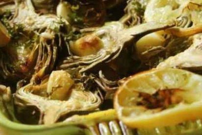 Alcachofas en salsa, receta fácil