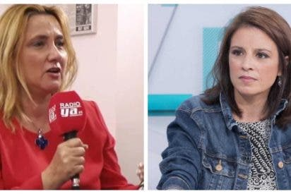 """La 'bachiller' Adriana Lastra presume de haber leído a Campoamor y le cae un zasca de libro: """"Jamás fue socialista"""""""