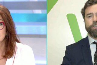 Ana Rosa Quintana y Espinosa de los Monteros bregan en directo por la tensa relación de VOX con los medios