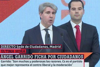 Ángel Garrido le pone los cuernos a Dolors Montserrat y al PP y se va con Ciudadanos