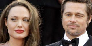 """La última amenaza de Angelina a Brad Pitt: """"Kanye West o los niños"""""""