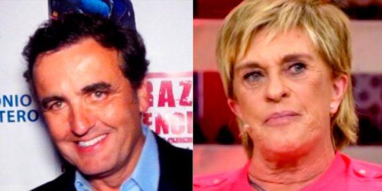 Antonio Montero se cansa de Chelo García Cortés y cuenta todas las 'guarradas' que le ha hecho