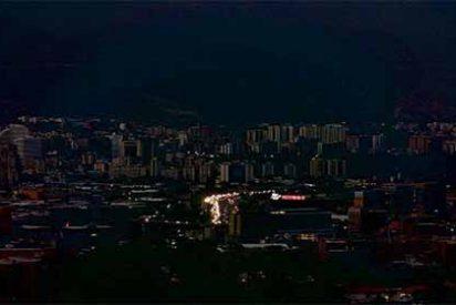 Los 'apagones chavistas' dejan a oscuras a Caracas y la mitad del país