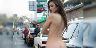 Se había desnudado en una gasolinera y lo volvió a hacer, pero en un Metrobus