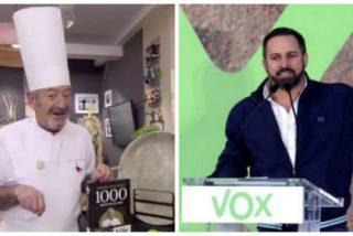 """¿Ataque soterrado de Karlos Arguiñano contra Vox?: """"El domingo a votar, no vaya a ser que se nos cuelen"""""""