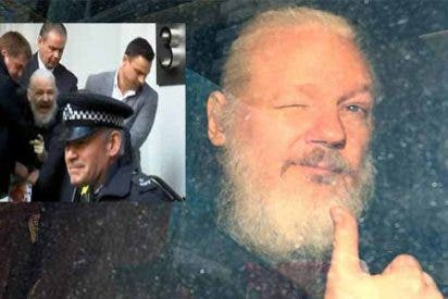 Julian Assange pasará un año en la cárcel antes de ser extraditado a EEUU