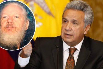 """El presidente de Ecuador ataca al """"malcriado"""" de Julian Assange: """"Manchaba las paredes con sus heces fecales"""""""