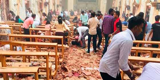 Última hora: 287 muertos y 469 heridos tras explosiones en iglesias y hoteles de lujo en Sri Lanka