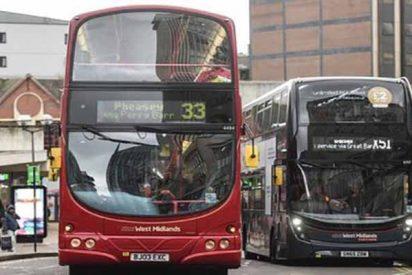 Seis facinerosos violan a una niña de 12 años en un autobús de Birmingham