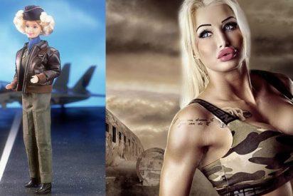 Fotos: Ella es Paulina Candy, la modelo gastó 93.000 dólares para parece una Barbie