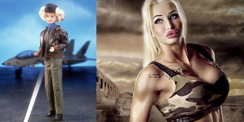 Fotos: Ella es Paulina Candy, la modelo que gastó 93.000 dólares para parecer una Barbie