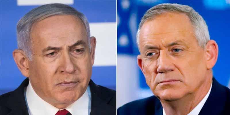 Netanyahu se perfila como casi seguro primer ministro de Israel pese al empate con el general Gantz