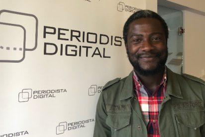 """Bertrand Ndongo (Vox): """"Decirle a los africanos como hace Podemos 'venid, venid a España' es una hipocresía. La izquierda radical utiliza a los inmigrantes"""""""