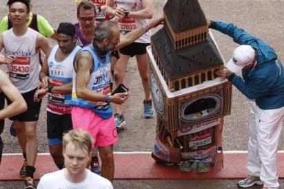El 'Big Ben' londinense participa en el maratón anual pero al llegar a meta pasó esto…