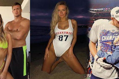 Camille Kostek: La sexy novia de este figura de la NFL