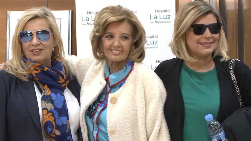 Teresa Campos humilla a Telecinco: ficha por otra tele y se va con Terelu y Carmen Borrego