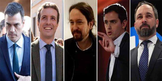 VOX recupera terreno a costa de Ciudadanos y echa el aliento en la nuca de Podemos