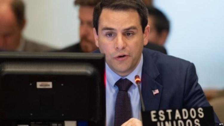 EEUU asume la presidencia de la OEA en medio de la crisis en Venezuela
