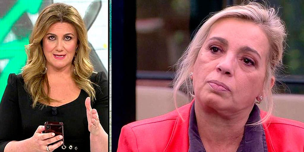 El preocupante parte médico de Carmen Borrego tras el tartazo que recibió