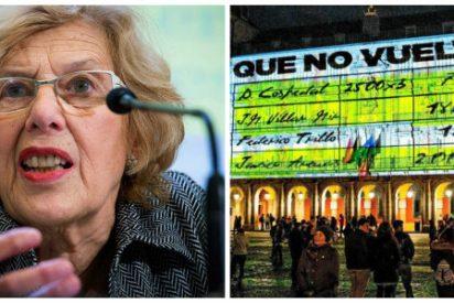 """La Junta Electoral expedienta a Carmena y a Podemos por el """"tramposo"""" vídeo en la Plaza Mayor"""