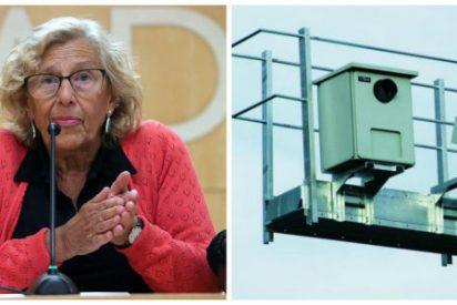 Manuela Carmena, a la caza y persecución del vehículo privado: El radar de tramo de la A-5 comienza a multar