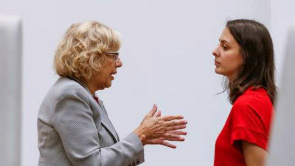 La transparencia de Ahora Madrid: Manuela Carmena y sus concejales se olvidan de donar parte de su sueldo