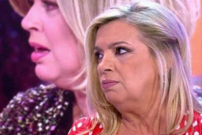 """La tomadura de pelo de Las Campos: de la """"vagina"""" de Carmen Borrego al llanto de Terelu"""