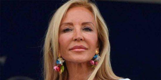Carmen Lomana se lia el bikini a la cabeza y posa a los 70 años en Instagram