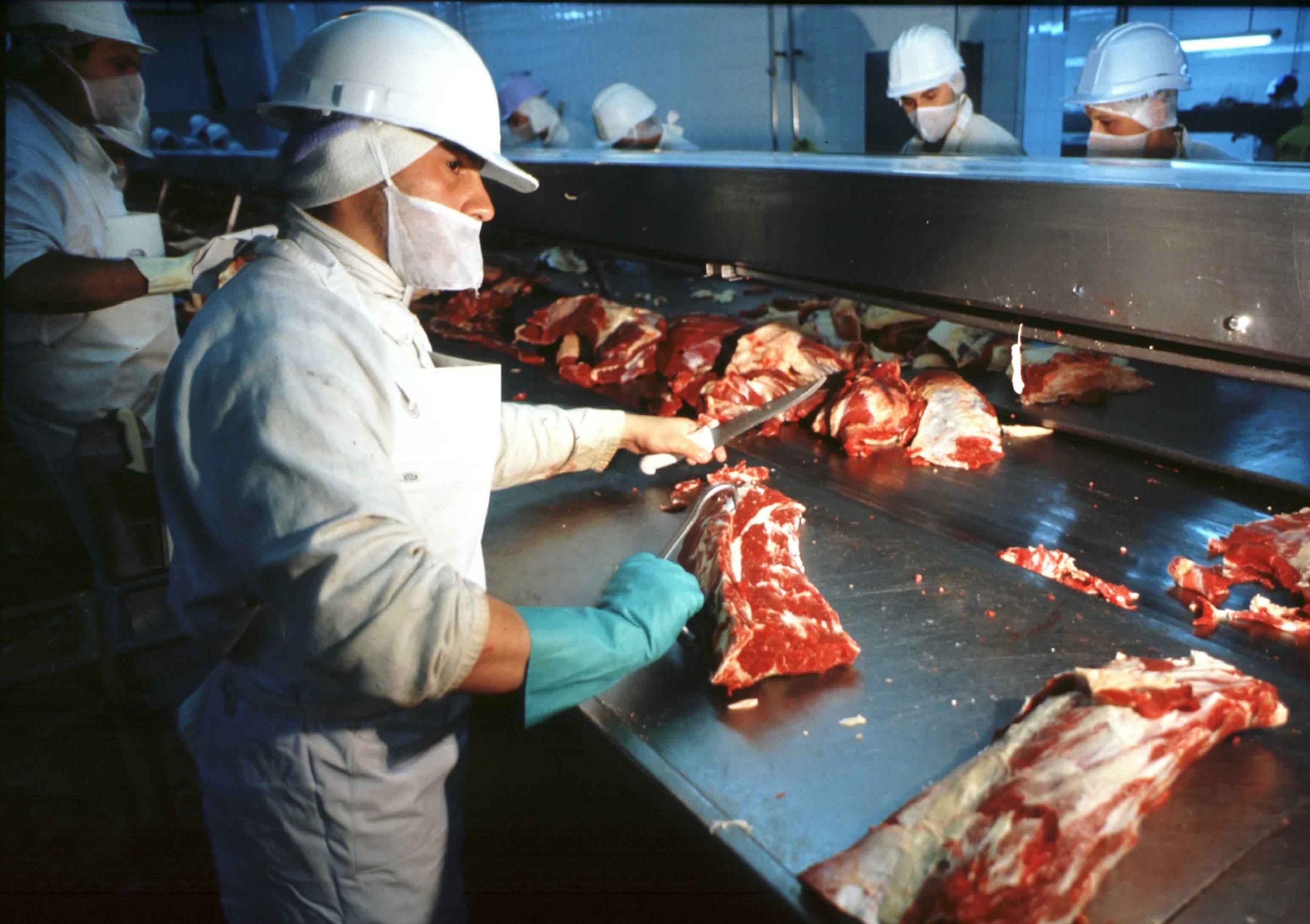 Trabajadora cae en una procesadora de carne y muere despedazada