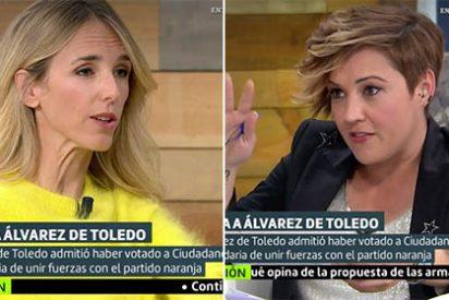 Cayetana Álvarez de Toledo se pone farruca con las preguntas duras de Cristina Pardo