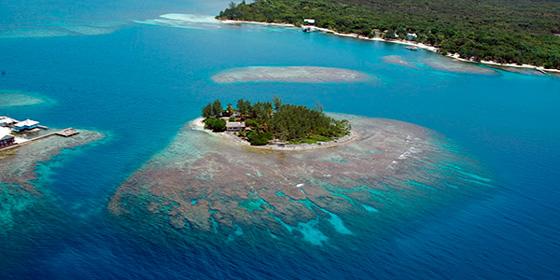 Islas de película: Cayos de Utila