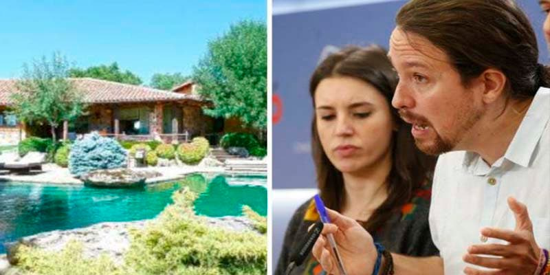 Apalean a Pablo Iglesias por 'defender' la España rural desde su chalet en la Sierra