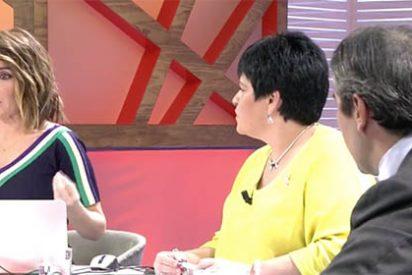 La infame Carme Chaparro corta a García-Juez por defender sus ideas y después no sabe ni qué decirle