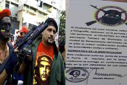 """Maduro legaliza el crimen de sus paramilitares con """"licencias para matar"""" en Venezuela"""