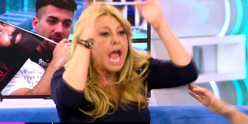 Cristina Tarrega pierde los nervios en directo y se pone hecha una furia