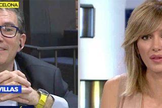Asqueroso: Griso se traga con una sonrisa las miserables palabras del candidato independendista y abogado del cobarde Puigdemont