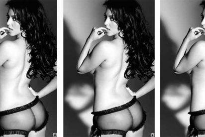 La foto más hot de Kim Kardashian: un culotte transparente y nada más