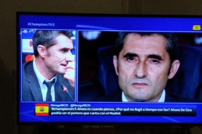 Acoso independentista al ingenioso espectador que coló la bandera de España en TV3