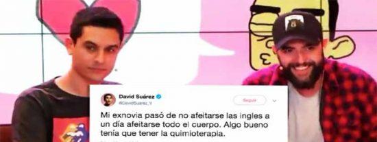 David Suárez, guionista de Dani Mateo, también se burla de las personas con cáncer