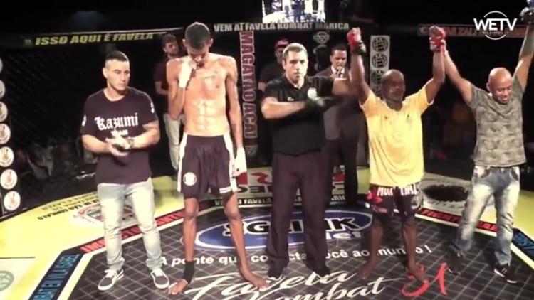 """""""David contra Goliat"""": la llamativa pelea de MMA de Muay Thai"""