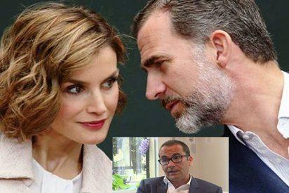 Los 'epítetos' de Letizia dejaron en cueros al Rey que telefoneó al 'cantamañanas' director de El Mundo