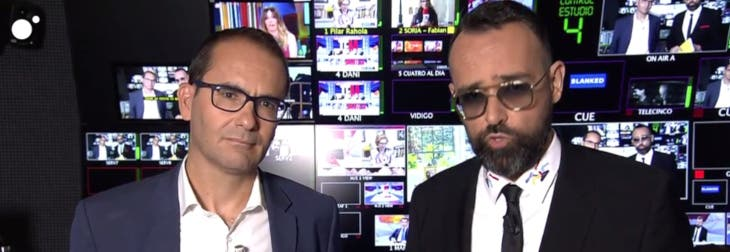El 'gatillazo' de David Jiménez en lo de Risto: amenaza con denunciar a periodistas corruptos y luego no se atreve a dar nombres