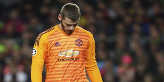 Las redes se parten la caja tras el fallo de De Gea en el Barça-Manchester