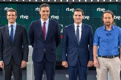 """Debate a cuatro en RTVE: Todos los partidos se acuerdan de """"San autónomo bendito"""""""