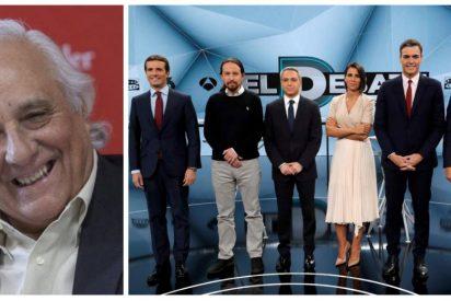 """La contundente afirmación de Raúl del Pozo sobre el debate: """"Fue un 'GH' con 3 maniquíes y un chulo de Vallecas"""""""