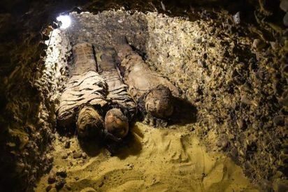 Abren un sarcófago egipcio de 2.500 años de antigüedad en un programa en vivo: Esto fue lo que encontraron