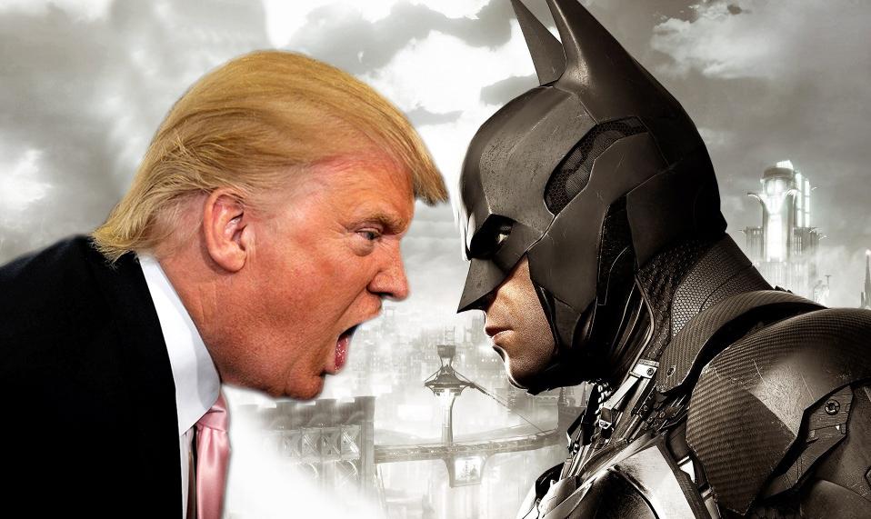 Twitter se niega a comparar a Donald Trump con Batman